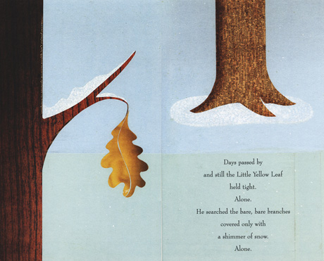 Little Yellow Leaf Discovers A Friend And Realizes That Falling Together Is An Adventure Worth Taking